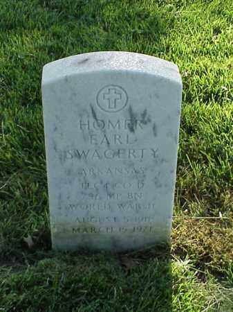 SWAGERTY (VETERAN WWII), HOMER EARL - Pulaski County, Arkansas | HOMER EARL SWAGERTY (VETERAN WWII) - Arkansas Gravestone Photos
