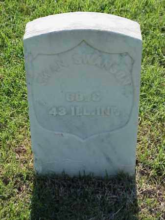 SWANSON (VETERAN UNION), SWAN - Pulaski County, Arkansas | SWAN SWANSON (VETERAN UNION) - Arkansas Gravestone Photos