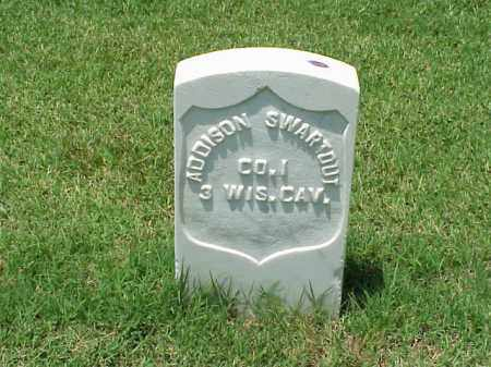 SWARTOUT (VETERAN UNION), ADDISON - Pulaski County, Arkansas | ADDISON SWARTOUT (VETERAN UNION) - Arkansas Gravestone Photos