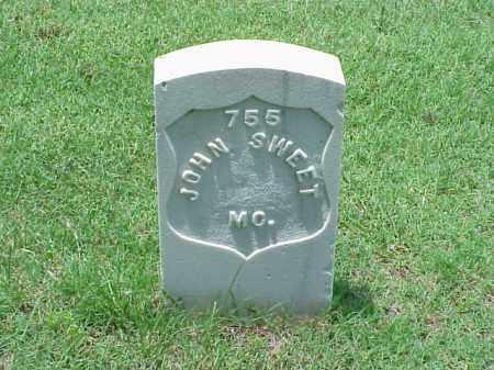 SWEET (VETERAN UNION), JOHN - Pulaski County, Arkansas | JOHN SWEET (VETERAN UNION) - Arkansas Gravestone Photos