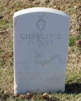 SWINEY (VETERAN WWII), CHARLES D - Pulaski County, Arkansas   CHARLES D SWINEY (VETERAN WWII) - Arkansas Gravestone Photos