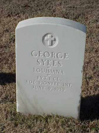 SYKES (VETERAN WWI), GEORGE - Pulaski County, Arkansas | GEORGE SYKES (VETERAN WWI) - Arkansas Gravestone Photos