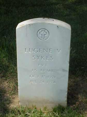 SYKES (VETERAN WWII), EUGENE V - Pulaski County, Arkansas | EUGENE V SYKES (VETERAN WWII) - Arkansas Gravestone Photos