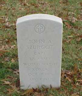 SZURGOT (VETERAN 2 WARS), JOHN A - Pulaski County, Arkansas | JOHN A SZURGOT (VETERAN 2 WARS) - Arkansas Gravestone Photos
