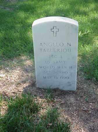 TABLERIOU (VETERAN WWII), ANGELO N - Pulaski County, Arkansas | ANGELO N TABLERIOU (VETERAN WWII) - Arkansas Gravestone Photos