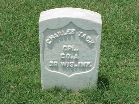 TACK (VETERAN UNION), CHARLES - Pulaski County, Arkansas | CHARLES TACK (VETERAN UNION) - Arkansas Gravestone Photos