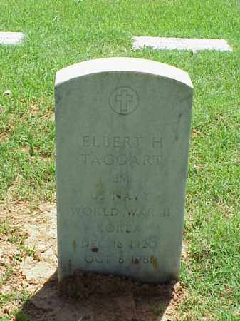 TAGGART (VETERAN 2 WARS), ELBERT H - Pulaski County, Arkansas | ELBERT H TAGGART (VETERAN 2 WARS) - Arkansas Gravestone Photos