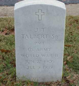 TALBERT, SR (VETERAN WWII), J T - Pulaski County, Arkansas | J T TALBERT, SR (VETERAN WWII) - Arkansas Gravestone Photos