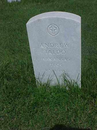 TALDO (VETERAN WWII), ANDREW - Pulaski County, Arkansas | ANDREW TALDO (VETERAN WWII) - Arkansas Gravestone Photos