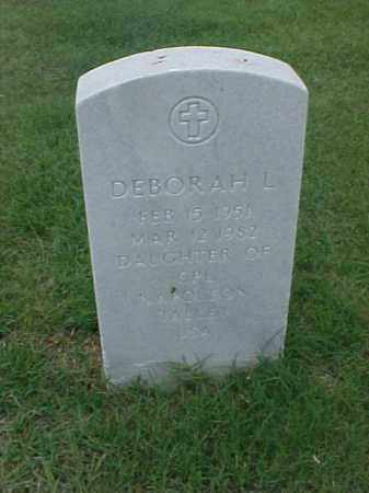 TALLEY, DEBORAH L - Pulaski County, Arkansas | DEBORAH L TALLEY - Arkansas Gravestone Photos