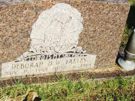 TALLEY, DEBORAH D.W. - Pulaski County, Arkansas | DEBORAH D.W. TALLEY - Arkansas Gravestone Photos