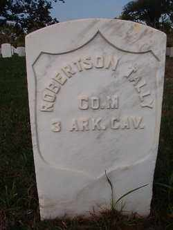 TALLEY (VETERAN CSA, UNION), ROBERTSON PERRY - Pulaski County, Arkansas   ROBERTSON PERRY TALLEY (VETERAN CSA, UNION) - Arkansas Gravestone Photos