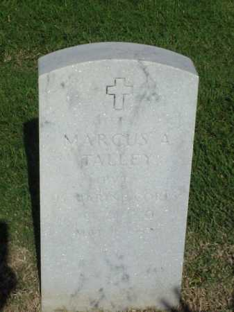TALLEY (VETERAN), MARCUS A - Pulaski County, Arkansas | MARCUS A TALLEY (VETERAN) - Arkansas Gravestone Photos