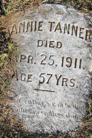 TANNER, ANNIE - Pulaski County, Arkansas | ANNIE TANNER - Arkansas Gravestone Photos