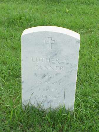 TANNER (VETERAN 2 WARS), LUTHER - Pulaski County, Arkansas | LUTHER TANNER (VETERAN 2 WARS) - Arkansas Gravestone Photos