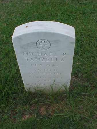 TANZELLA (VETERAN 2 WARS), MICHAEL P - Pulaski County, Arkansas | MICHAEL P TANZELLA (VETERAN 2 WARS) - Arkansas Gravestone Photos