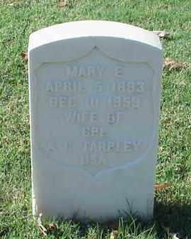 TARPLEY, MARY E - Pulaski County, Arkansas | MARY E TARPLEY - Arkansas Gravestone Photos