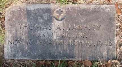 TARPLEY, THOMAS ABRAHAM - Pulaski County, Arkansas | THOMAS ABRAHAM TARPLEY - Arkansas Gravestone Photos