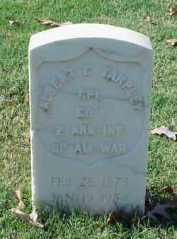 TARPLEY (VETERAN SAW), ALBERT C - Pulaski County, Arkansas | ALBERT C TARPLEY (VETERAN SAW) - Arkansas Gravestone Photos