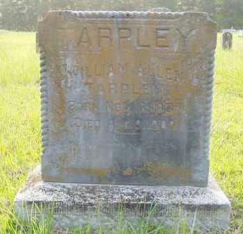 TARPLEY, WILLIAM ALLEN - Pulaski County, Arkansas | WILLIAM ALLEN TARPLEY - Arkansas Gravestone Photos