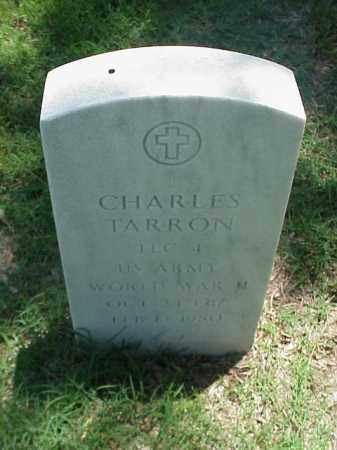 TARRON (VETERAN WWII), CHARLES - Pulaski County, Arkansas | CHARLES TARRON (VETERAN WWII) - Arkansas Gravestone Photos