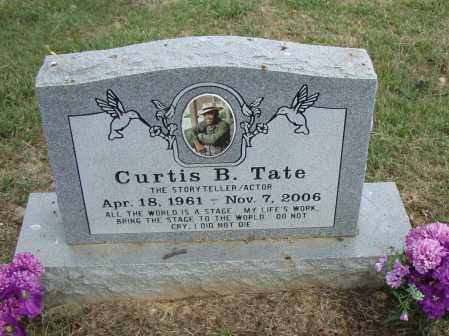 TATE, CURTIS  B. - Pulaski County, Arkansas | CURTIS  B. TATE - Arkansas Gravestone Photos