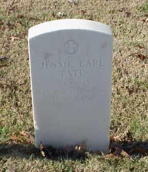 TATE (VETERAN), JESSIE EARL - Pulaski County, Arkansas | JESSIE EARL TATE (VETERAN) - Arkansas Gravestone Photos