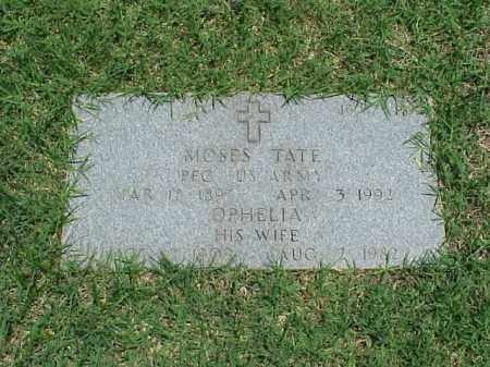 TATE (VETERAN WWI), MOSES - Pulaski County, Arkansas | MOSES TATE (VETERAN WWI) - Arkansas Gravestone Photos