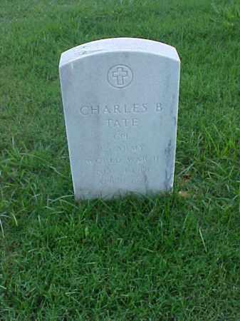 TATE (VETERAN WWII), CHARLES B - Pulaski County, Arkansas | CHARLES B TATE (VETERAN WWII) - Arkansas Gravestone Photos