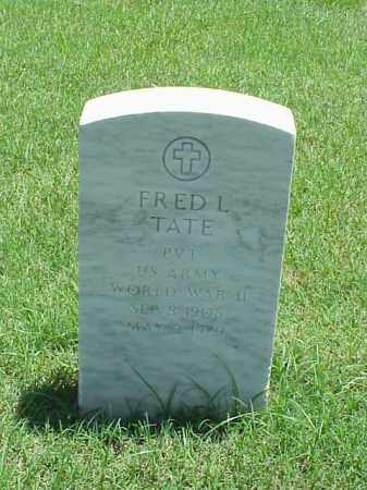 TATE (VETERAN WWII), FRED L - Pulaski County, Arkansas | FRED L TATE (VETERAN WWII) - Arkansas Gravestone Photos