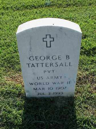 TATTERSALL (VETERAN WWII), GEORGE B - Pulaski County, Arkansas | GEORGE B TATTERSALL (VETERAN WWII) - Arkansas Gravestone Photos