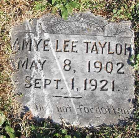 TAYLOR, AMYE - Pulaski County, Arkansas | AMYE TAYLOR - Arkansas Gravestone Photos