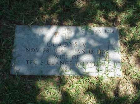 TAYLOR, GLADYS V - Pulaski County, Arkansas | GLADYS V TAYLOR - Arkansas Gravestone Photos