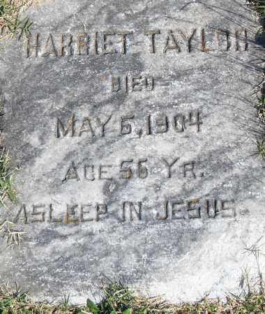 TAYLOR, HARRIET - Pulaski County, Arkansas | HARRIET TAYLOR - Arkansas Gravestone Photos