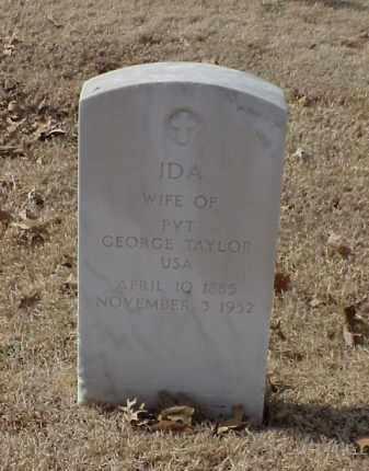 TAYLOR, IDA - Pulaski County, Arkansas | IDA TAYLOR - Arkansas Gravestone Photos