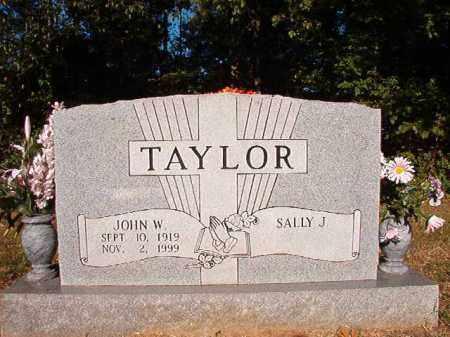TAYLOR, JOHN W - Pulaski County, Arkansas | JOHN W TAYLOR - Arkansas Gravestone Photos