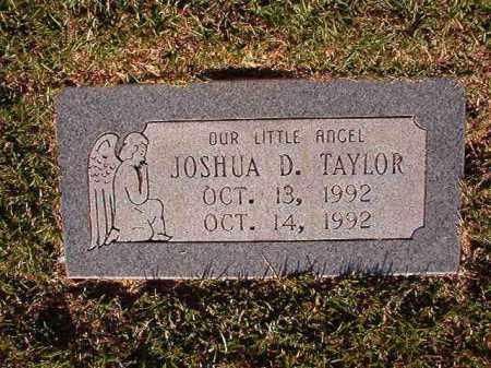 TAYLOR, JOSHUA D - Pulaski County, Arkansas | JOSHUA D TAYLOR - Arkansas Gravestone Photos
