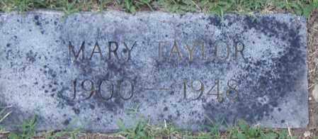 TAYLOR, MARY - Pulaski County, Arkansas | MARY TAYLOR - Arkansas Gravestone Photos