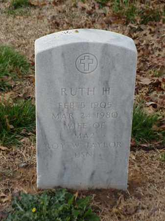 TAYLOR, RUTH H - Pulaski County, Arkansas | RUTH H TAYLOR - Arkansas Gravestone Photos