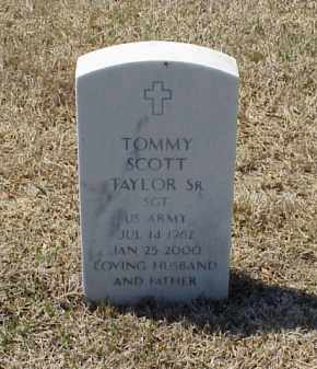 TAYLOR, SR (VETERAN), TOMMY SCOTT - Pulaski County, Arkansas | TOMMY SCOTT TAYLOR, SR (VETERAN) - Arkansas Gravestone Photos