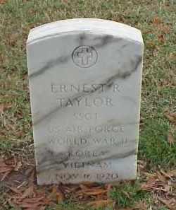 TAYLOR (VETERAN 3 WARS), ERNEST R - Pulaski County, Arkansas | ERNEST R TAYLOR (VETERAN 3 WARS) - Arkansas Gravestone Photos