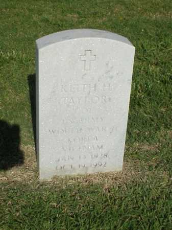 TAYLOR (VETERAN 3 WARS), KEITH H - Pulaski County, Arkansas | KEITH H TAYLOR (VETERAN 3 WARS) - Arkansas Gravestone Photos