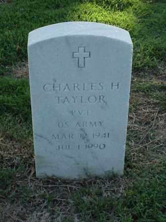 TAYLOR (VETERAN), CHARLES H - Pulaski County, Arkansas | CHARLES H TAYLOR (VETERAN) - Arkansas Gravestone Photos