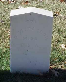 TAYLOR (VETERAN CSA), D W - Pulaski County, Arkansas | D W TAYLOR (VETERAN CSA) - Arkansas Gravestone Photos
