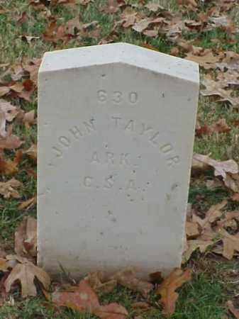 TAYLOR (VETERAN CSA), JOHN - Pulaski County, Arkansas | JOHN TAYLOR (VETERAN CSA) - Arkansas Gravestone Photos