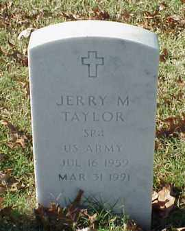 TAYLOR (VETERAN), JERRY M - Pulaski County, Arkansas | JERRY M TAYLOR (VETERAN) - Arkansas Gravestone Photos