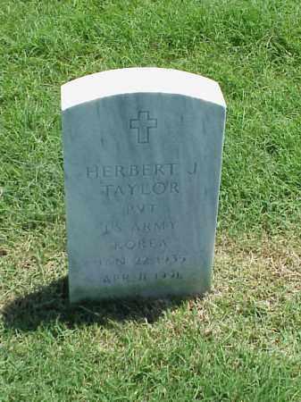 TAYLOR (VETERAN KOR), HERBERT J - Pulaski County, Arkansas | HERBERT J TAYLOR (VETERAN KOR) - Arkansas Gravestone Photos