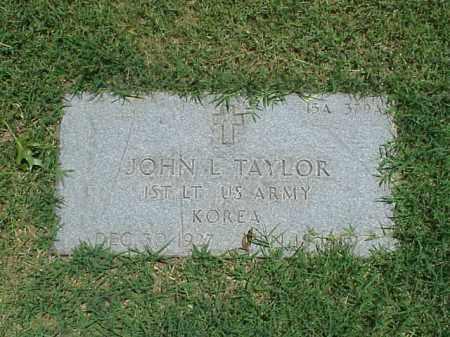 TAYLOR (VETERAN KOR), JOHN L - Pulaski County, Arkansas | JOHN L TAYLOR (VETERAN KOR) - Arkansas Gravestone Photos