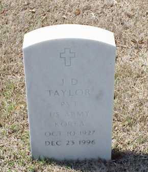 TAYLOR (VETERAN KOR), J D - Pulaski County, Arkansas | J D TAYLOR (VETERAN KOR) - Arkansas Gravestone Photos