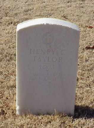 TAYLOR (VETERAN UNION), HENRY C - Pulaski County, Arkansas | HENRY C TAYLOR (VETERAN UNION) - Arkansas Gravestone Photos